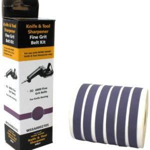 Work Sharp WSSA0002705 Fine 6000 Replacement Belt Kit (WSKTS & WSKTS-KT Only) 1