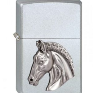 Zippo 2002846 205 - Mechero, diseño de cabeza de caballo en relieve 3