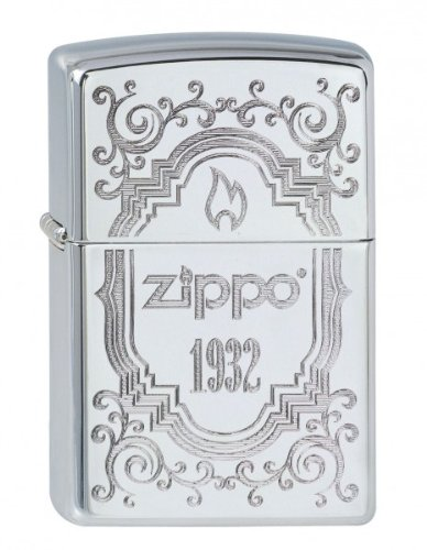 Zippo 2.002.913 1932 Collection 2013 - Mechero cromado (acabado muy brillante) 4