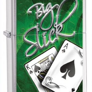 Zippo Big Slick Lighter Chrome - Mechero, color cromo cepillado 2