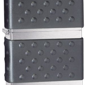 Zippo Lighter - Mechero, color cromo cepillado 4