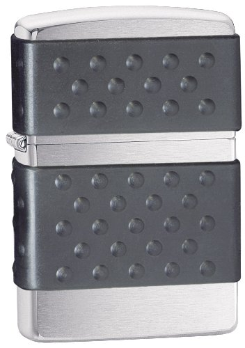 Zippo Lighter - Mechero, color cromo cepillado 5