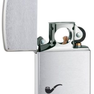 Zippo Pipe Lighter Brushed Chrome - Mechero, color cromo cepillado 1