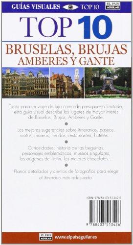 Bruselas, Brujas, Amberes y Gante (Guías Top 10) 1