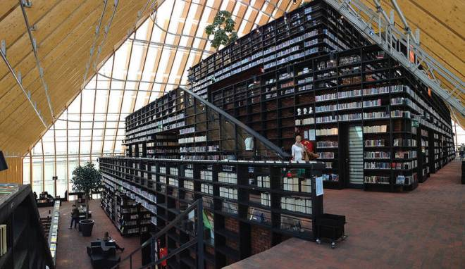 Book Mountain en Spijkenisse