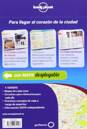 Lonely Planet Atenas De cerca (Travel Guide) (Spanish Edition) 1