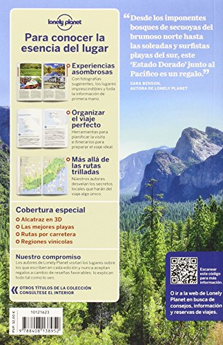 Lonely Planet California (Travel Guide) (Spanish Edition