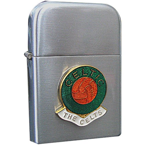 Football Club Lighters-Celtic Football Club Petrol Storm Proof Lighter Cigarette Case 1