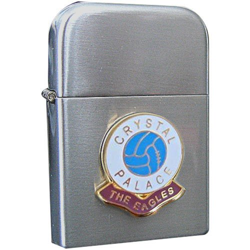 Football Club Lighters-Crystal Palace ' The Eagles' Football Club Petrol Storm Proof Lighter 1