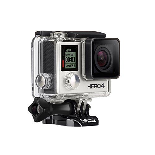 GoPro HERO4 Silver Edition Adventure - Videocámara deportiva (12 Mp, Wi-Fi, Bluetooth, sumergible hasta 40 m) 2