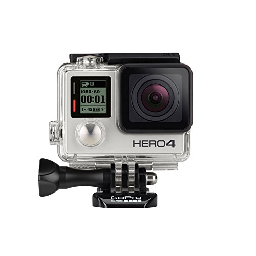 GoPro HERO4 Silver Edition Adventure - Videocámara deportiva (12 Mp, Wi-Fi, Bluetooth, sumergible hasta 40 m) 6
