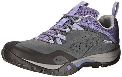 Merrell AZURA BREEZE - zapatillas de trekking y senderismo de piel mujer 3