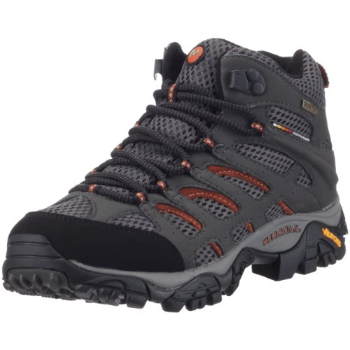 Merrell MOAB MID GTX J87314 - Zapatillas de senderismo para mujer, color gris, talla 42 4