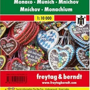 Munich City Pocket Map 1:10K FB (English, Spanish, French, Italian and German Edition)