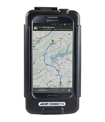 NC-17 Connect Plus Samsung Galaxy S5 with Easy Charger IPX 5/Splash Proof Bike Mount - Black 5
