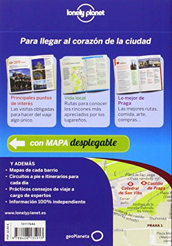 Lonely Planet Praga De Cerca (Travel Guide) (Spanish Edition) 1
