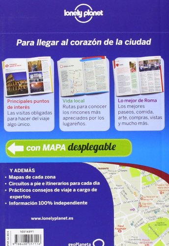 Lonely Planet Roma de cerca (Travel Guide) (Spanish Edition) 1