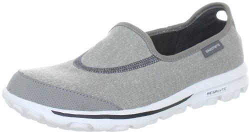 Skechers GO Walk 13510 GRY - Zapatos de tela para mujer 5