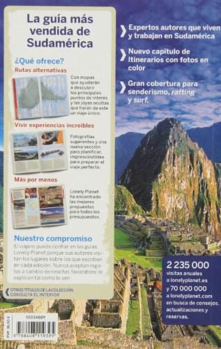 Lonely Planet Sudamerica para Mochileros (Travel Guide) (Spanish Edition) 1