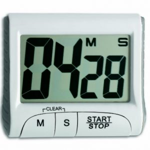 TFA 38.2021 Electronic Timer with Stop Clock