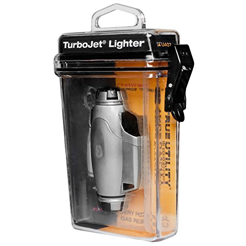 True Utility TU407 FireWire Turbo Jet Lighter with Windproof Flame Adjuster 2