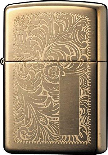 Zippo Lighter High Polish Brass Venetian 1