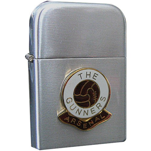Football Club Lighters-Arsenal Football Club Petrol Storm Proof Lighter 2