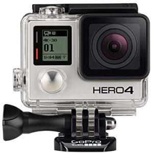 GoPro HERO4 Black Edition- Videocámara deportiva (12 Mp, Wi-Fi, Bluetooth, sumergible hasta 40 m)