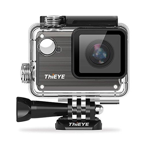 ThiEYE i30 WIFI 1080P 12MP Acción cámara, 40M impermeable / a prueba de polvo / resistente a las sacudidas se divierte la cámara, leva del casco del coche DVR con la lente 155 Grado Super-gran angular y de 1.5 pulgadas Full HD de pantalla 3