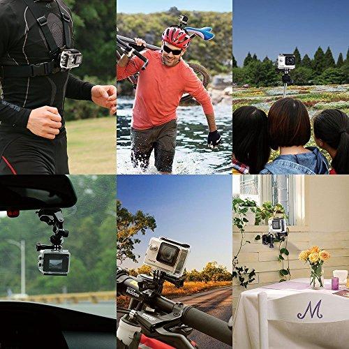 ThiEYE i60 WIFI - 40M Cámara de Deporte para casco Impermeable, Video de Alta definición 1080P 60fps 1