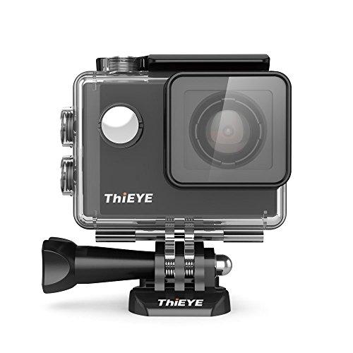 ThiEYE i60 WIFI - 40M Cámara de Deporte para casco Impermeable, Video de Alta definición 1080P 60fps 4