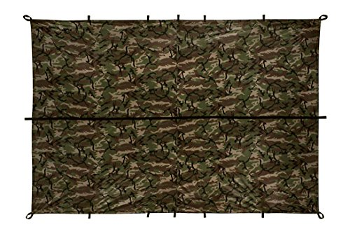 Aqua Quest Defender Tarp - 100% Waterproof - 10 x 7 ft Medium - Camo 11