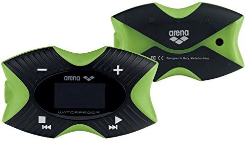 Arena Swimming Waterproof MP3 Pro Player, Lime