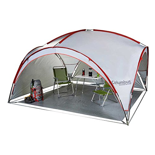 Columbus Camp Shelter - Carpa para picnic, color gris 9