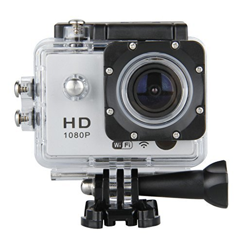 DV603E – Cámara Deportiva (pantalla 1.5″, Wi-Fi, 12 Mp, Full HD 1080P, 30m Sumergible)