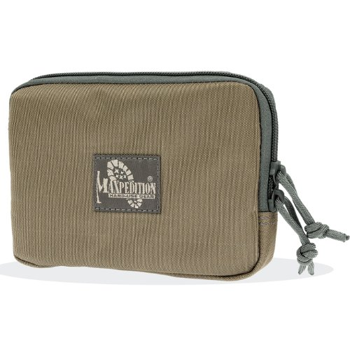 Maxpedition Hook-and-Loop 5-Inch x 7-Inch Zipper Pocket (Khaki-Foliage) 2
