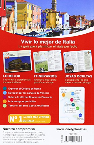 Lonely Planet Lo Mejor de Italia (Travel Guide) (Spanish Edition) 2