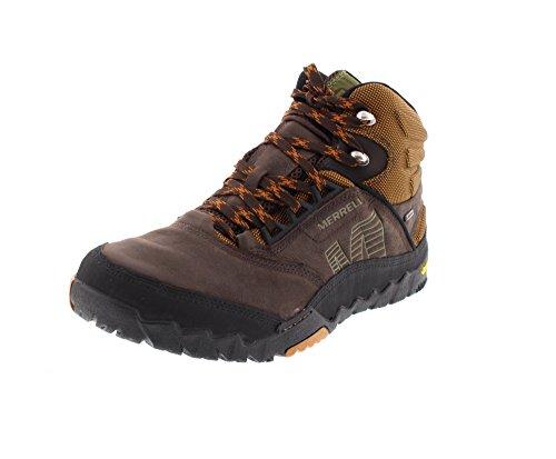 Merrell ANNEX MID GTX - botas de senderismo de cuero hombre 4