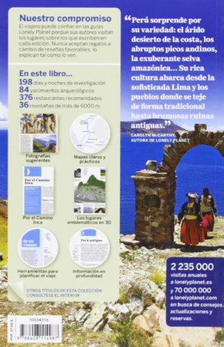 Lonely Planet Peru (Travel Guide) (Spanish Edition) 1