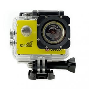 QUMOX WIFI SJ4000 - Oro Cámara de Deporte para casco Impermeable, Video de Alta definición 1080p 720p 5