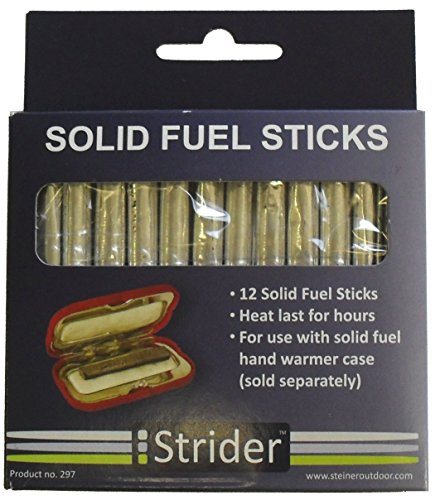 Pack Of 12 Charcoal Fuel Rods For Hand Warmer 10