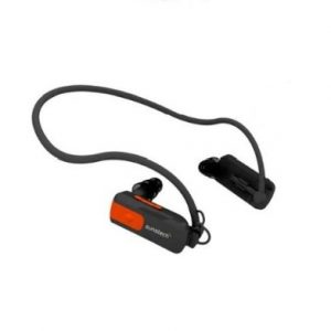 Sunstech Triton – Reproductor de MP3 (4 GB), Negro con Naranja
