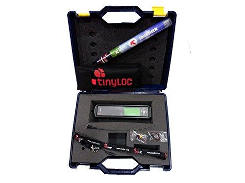 TINYLOC Pack maletín completo de telemetría UHF cetrería, 433-434 MHz 9