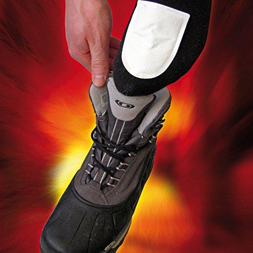 The heat Company - Calentador de pies (8 horas de duración, 5 pares), diseño de calcetín 1