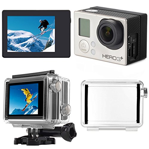 XCSOURCE LCD Screen BacPac Display + Back Door Case Cover for Gopro Hero 3+/ 4 OS329