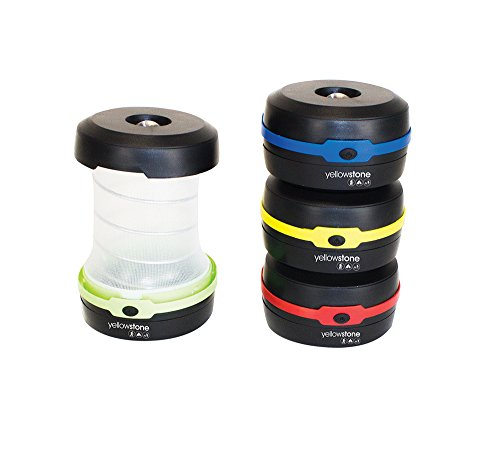 Yellowstone LED Telescopic Lantern - Multi-Colour, 3 W by Yellowstone 1