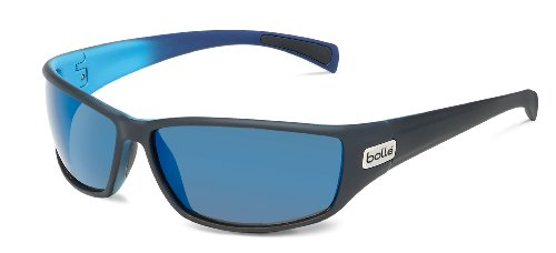 Bolle Python Sunglasses, Polarized GB10 AF, Matte Black/Blue 1