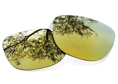Sunglasses Restorer Polarized Gold 24 K Replacement Lenses for Oakley Frogskins 2