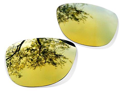 Sunglasses Restorer Polarized Gold 24 K Replacement Lenses for Oakley Frogskins 3