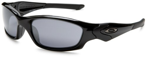 Oakley Men's Straight Jacket Iridium N Sunglasses